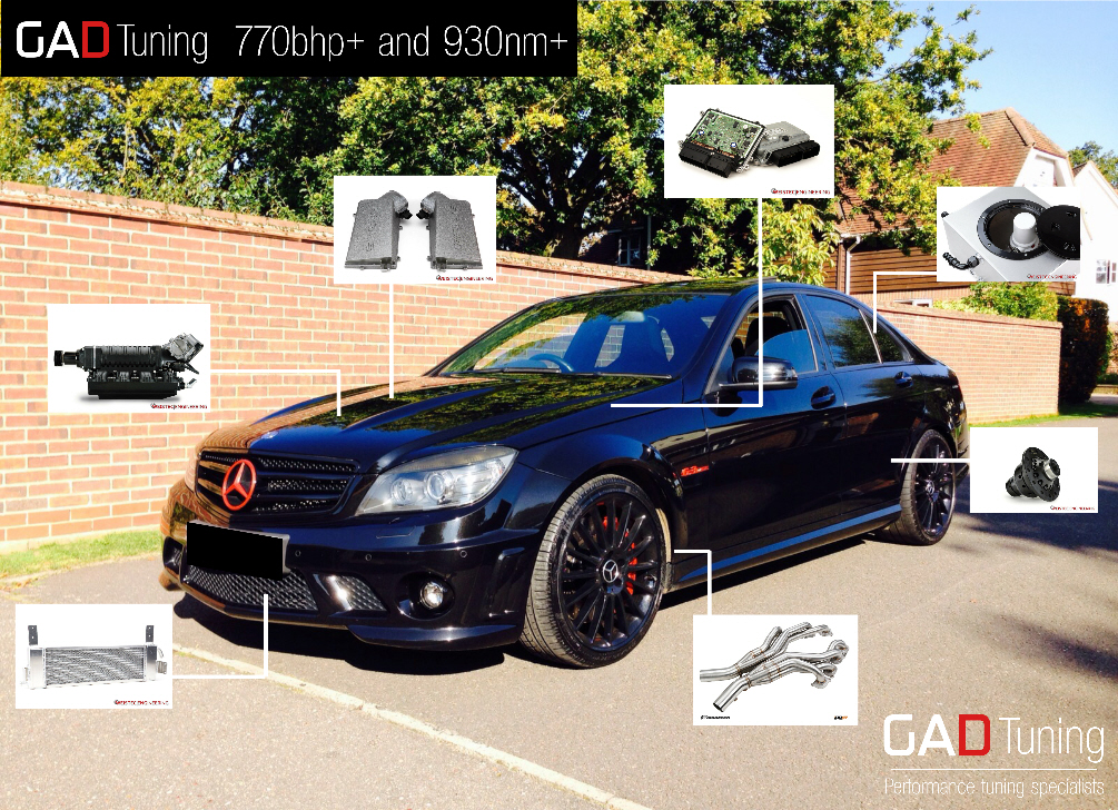 C63 Power package 2