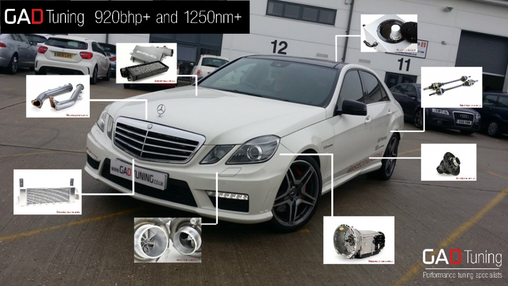 E63 AMG Power package 2